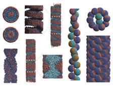ナノチューブ内のソフトマターの集合体